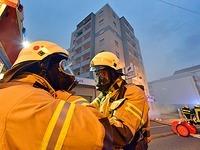 Nach Brandstiftung: Hochhaus hatte keine Rauchmelder
