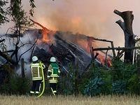 Feuerteufel schl�gt wieder zu - diesmal bei Bad Krozingen