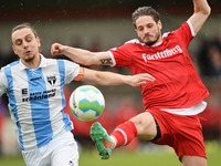 Der Bahlinger SC gewinnt 2:0 gegen den TSV Steinbach