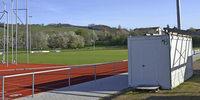 Roter Punkt f�r Sportheimbau in Sicht
