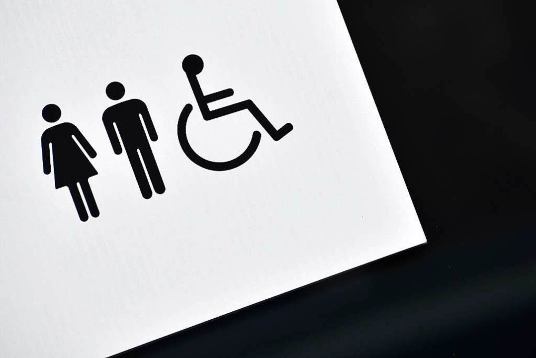Für Inklusion braucht es mehr als Piktogramme an den stillen Örtchen.  | Foto: dpa