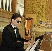 Organist Davide Pinna spielt Bach, Liszt und Franck