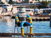 """USA: Vandalen zerst�ren Roboter """"Hitchbot"""""""