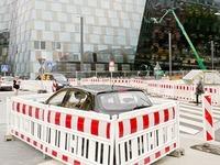 So parkt Freiburgs kreativster Autofahrer