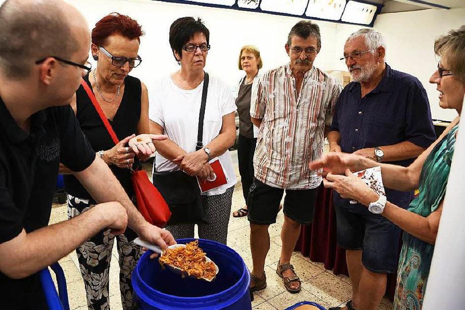 BZ-Leser zu Besuch in der Ichenheimer Gewürzmanufaktur Ledig (Foto: Christoph Breithaupt)