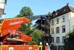 Fotos: Wohnhausbrand in der Lahrer Lotzbeckstraße