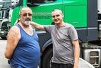 Fotos: Die Trucker auf dem Autohof bei Hartheim