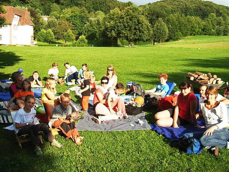 """Aus """"Chill am Schloss"""" wir...asserschloss, sondern im Erstel statt.    Foto: Johanna Högg"""