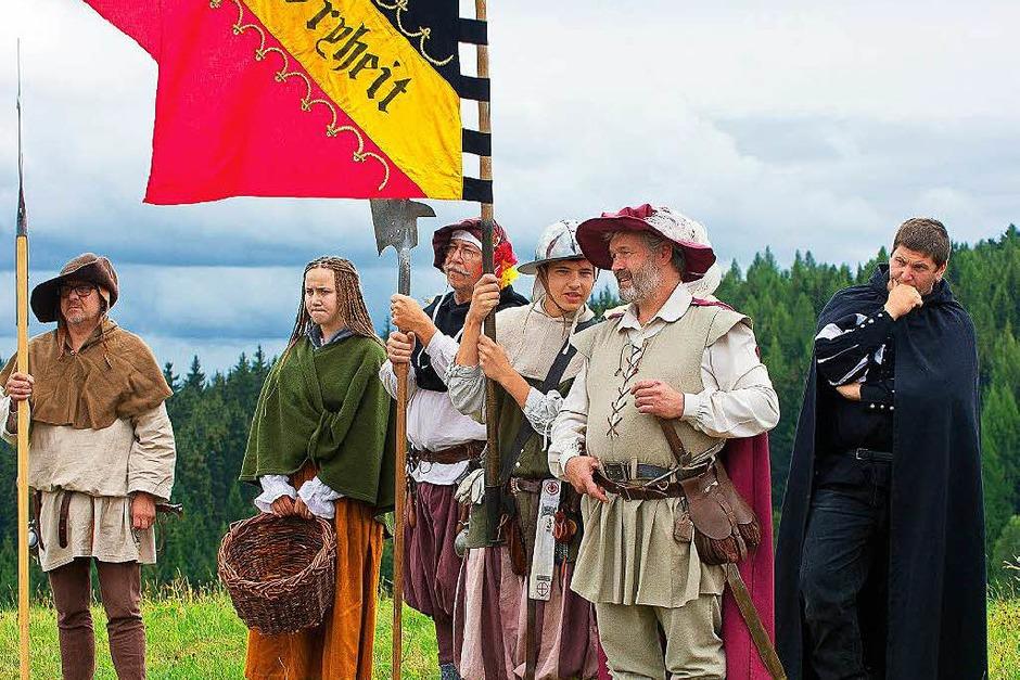Eine Reise ins Mittelalter mit der Hans Müller Gruppe in Grafenhausen Bulgenbach (Foto: Wolfgang Scheu)