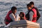 Fotos: Tausende Fl�chtlinge k�mpfen auf Kos ums �berleben