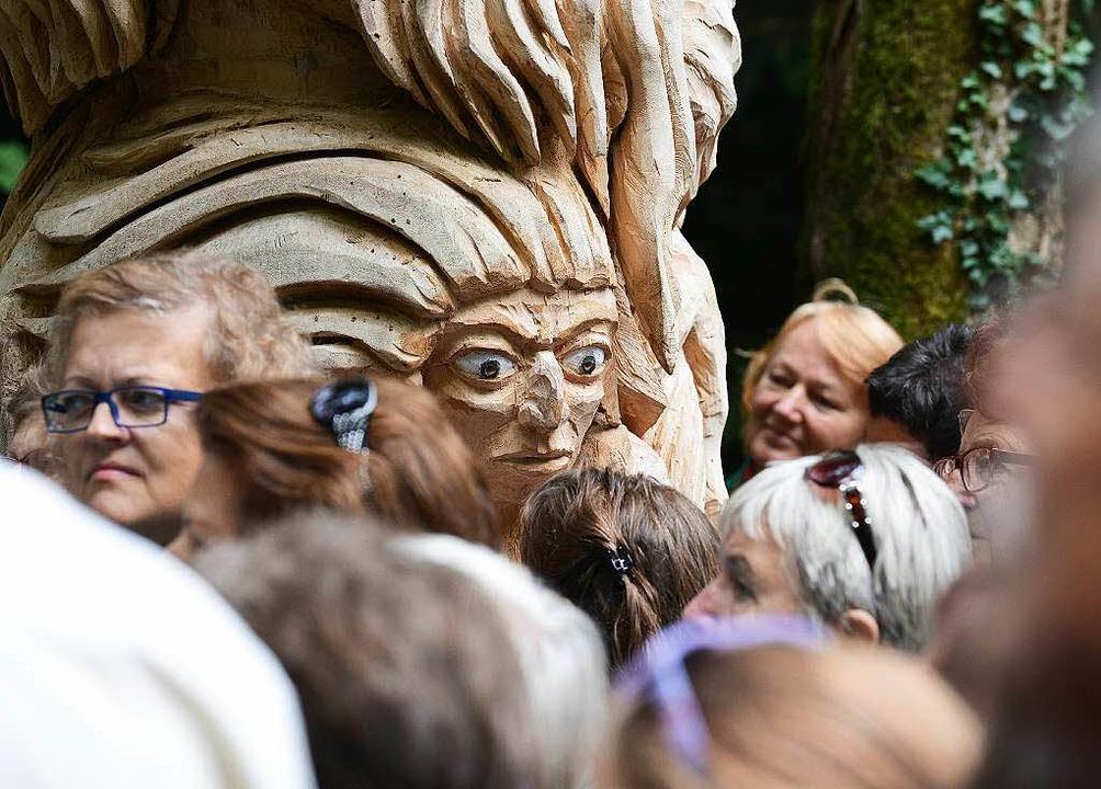 Augen auf beim Pilzesammeln...  | Foto: Rita Eggstein