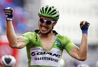 John Degenkolb sprintet bei der Vuelta