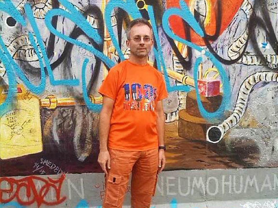 Andreas Amann in Berlin  | Foto: Privat
