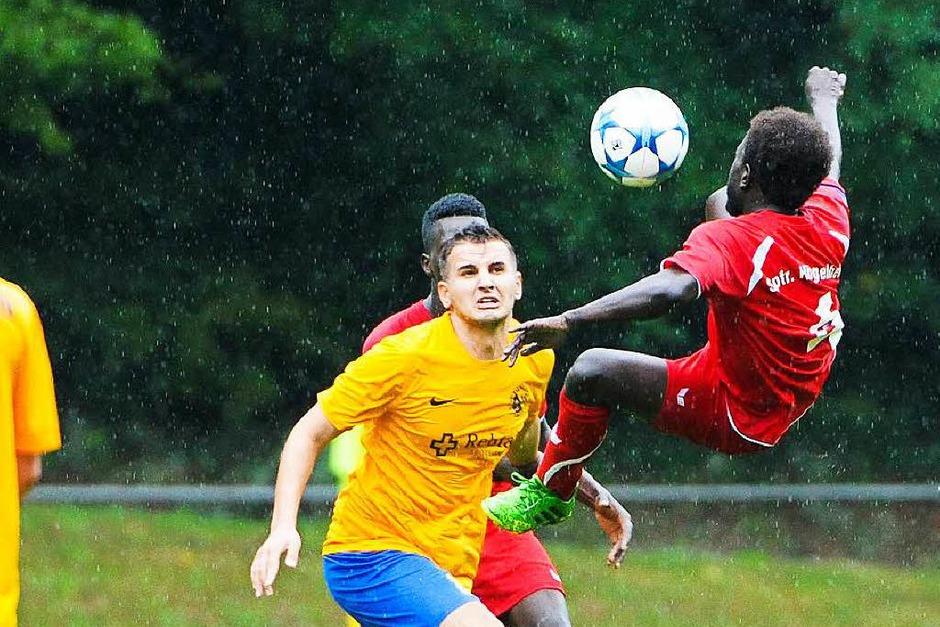 Team Afrika – die 3. Mannschaft der SF Hügelheim – gewann 6:2 gegen Freiburg-Tiengen II. (Foto: Achim Keller)