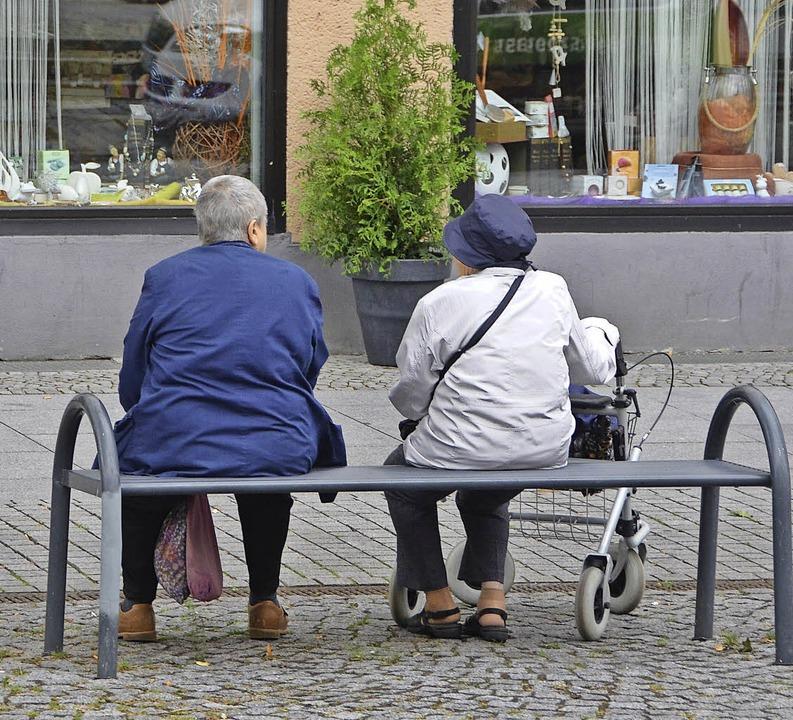 Jeder dritte Dessauer ist 65 Jahre oder älter – das ist deutscher Rekord.  | Foto: Martin Herceg