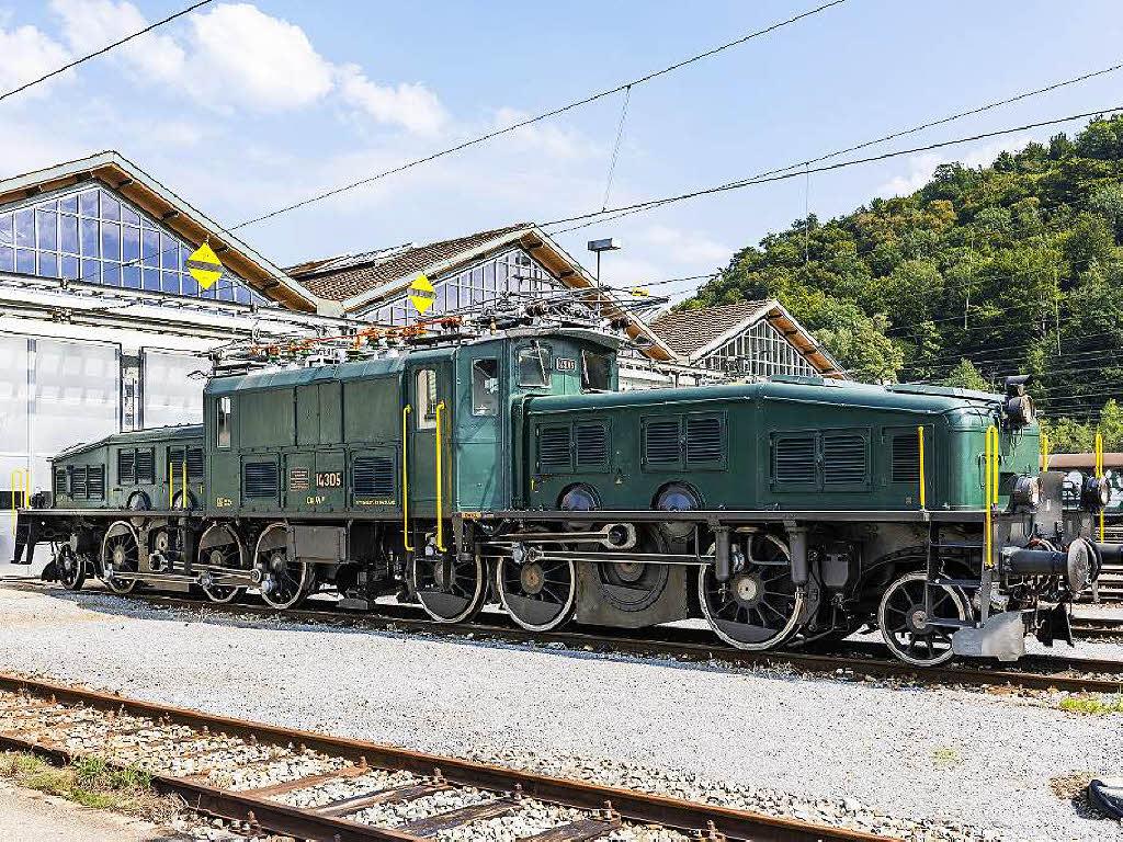 Basel: Jugenderinnerungen: Krokodil zieht historischen Zug auch durch Südbaden - badische-zeitung.de