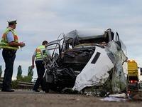 19 Verletzte auf A5 - Frau schwebt in Lebensgefahr