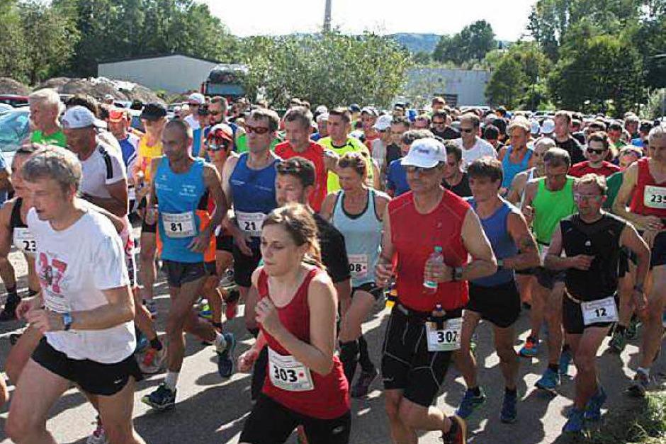 Sport und Spaß gab's bei der 25. Auflage des Wehratallaufs, organisiert von den Lauffreunden Wehratal.