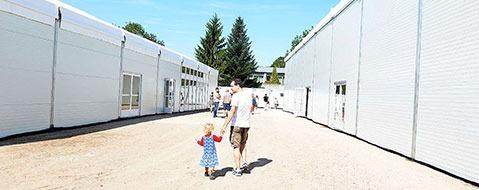 RP Freiburg muss mehr Fl�chtlinge unterbringen