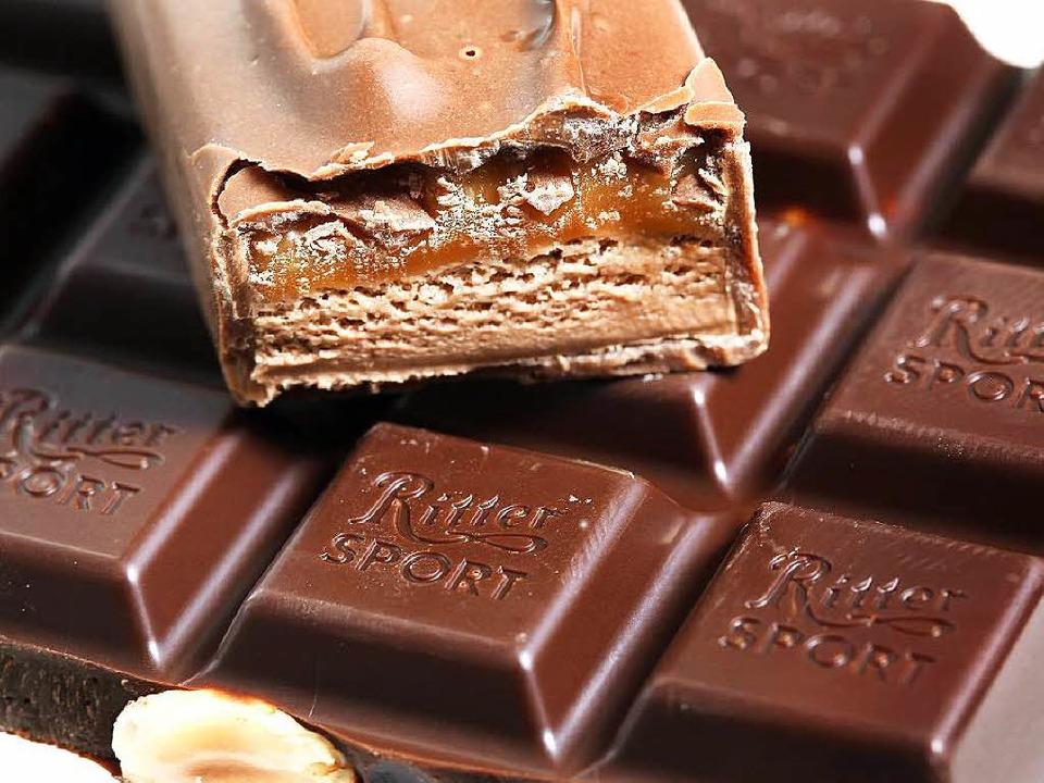 Genussmittel Nummer eins: Schokolade    Foto: dpa Deutsche Presse-Agentur