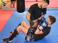 Kickboxer Moritz Treffler - mit 16 schon Weltmeister