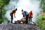Fotos: BZ-Ferienaktion Kohlenmeiler am Schauinsland