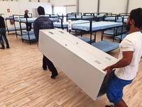 BEA ist fast fertig - Stress wegen Asylbetrug-Aufklebern