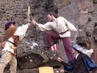 Mittelalterfest auf Burg Hohengeroldseck in Seelbach
