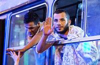 Tausende Fl�chtlinge aus Ungarn ziehen gen Deutschland