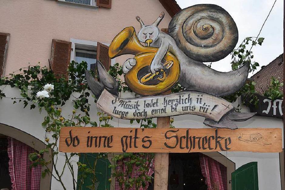 Regional und traditionsreich: Das Schnecke-Fescht in Pfaffenweiler. (Foto: Nikola Vogt)