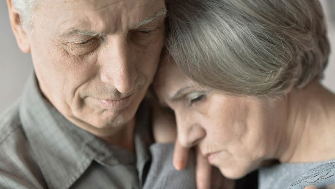 Die meisten älteren Menschen, die keine Enkel haben, bedauern dies.     Foto: colourbox