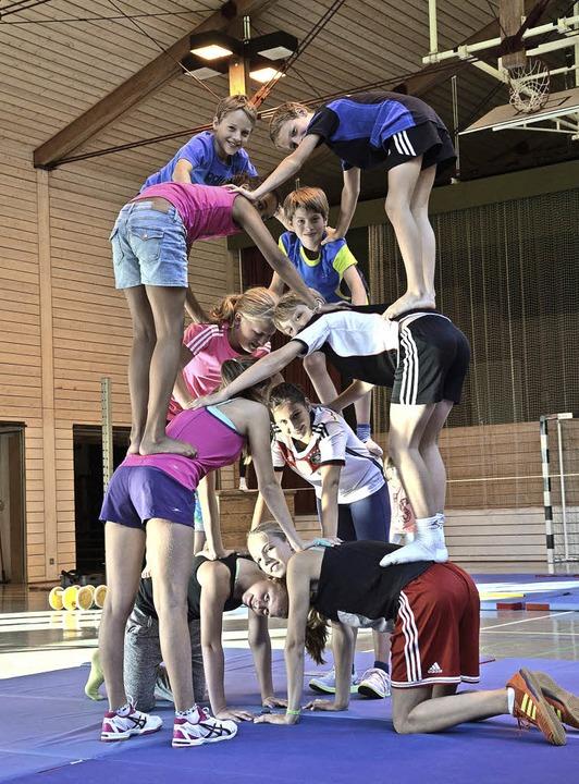 Zum Ferienprogrammfinale gab es die Sportnacht in der Erstelhalle.  | Foto: zvg