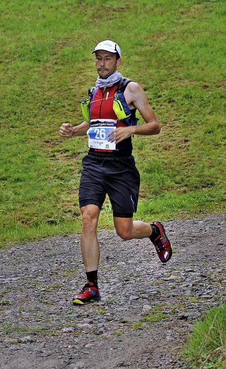 Der Sieger: MIt durchschnittlich 10,6 ...4 Kilometern in 8 Stunden 53 Minuten.   | Foto: Horst Dauenhauer