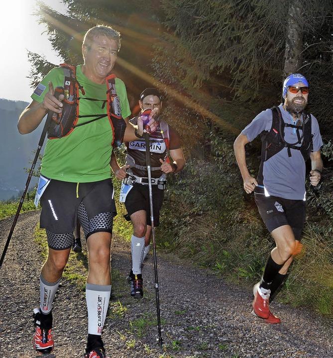 ... Walker beim Black Forest Trail  | Foto: Horst Dauenhauer