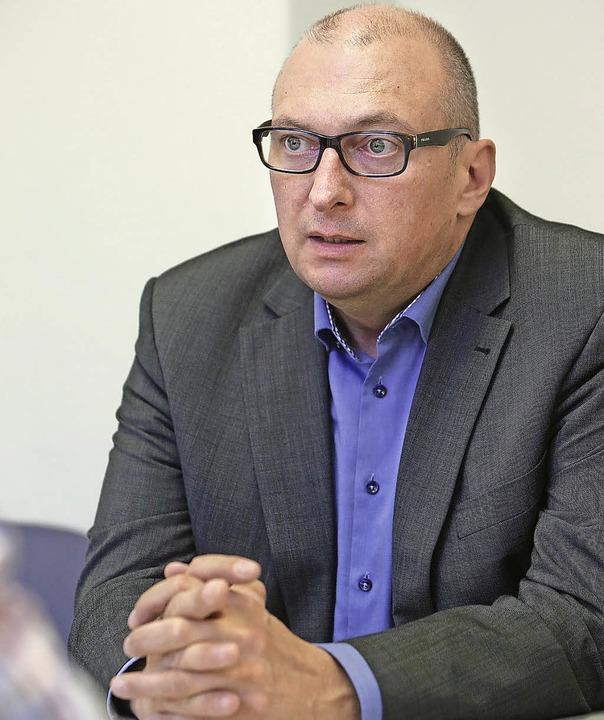 FDP-Landtagskandidat Matthias Kappis     Foto: christoph breithaupt
