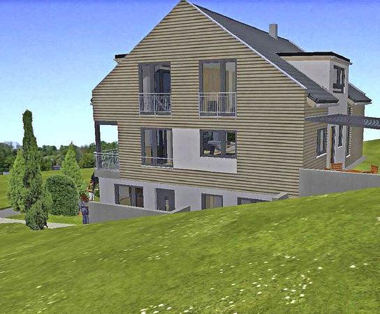 anzeige kologisch gebautes einfamilienhaus in h gelberg badische. Black Bedroom Furniture Sets. Home Design Ideas