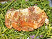 Ziegenbraten mit Bohnen schmeckt nicht nur zu Ostern