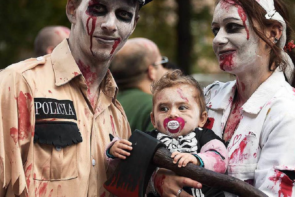 Zombie-Walk in Straßburg (Foto: AFP)