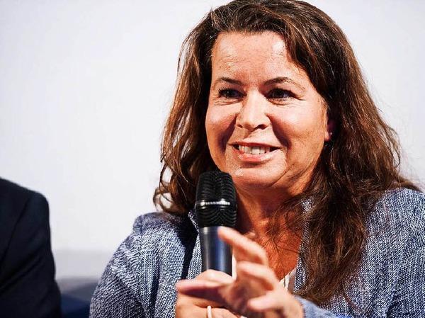 Managerinnen wie  Julia Sahli,Corporate Director Human Resources der IKA-Werke GmbH & Co. KG in Staufen, berichteten,  wie sie den Weg an die Spitze erlebt haben.