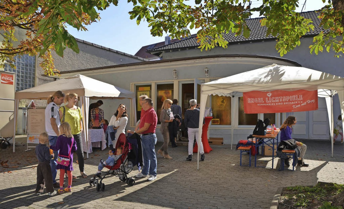 Der Verein Kommunales Kino Breisach feierte sein einjähriges Bestehen.   | Foto: Elisabeth Saller