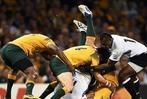 Fotos: Männer, die übereinander herfallen – die Rugby-WM