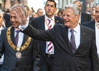 """Gauck: """"Wir Deutschen k�nnen Freiheit"""""""
