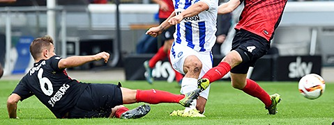 SC Freiburg patzt gegen den KSC in der Nachspielzeit - 1:1
