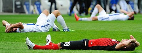 Sp�ter F�hrungstreffer reicht dem SC Freiburg nicht - 1:1