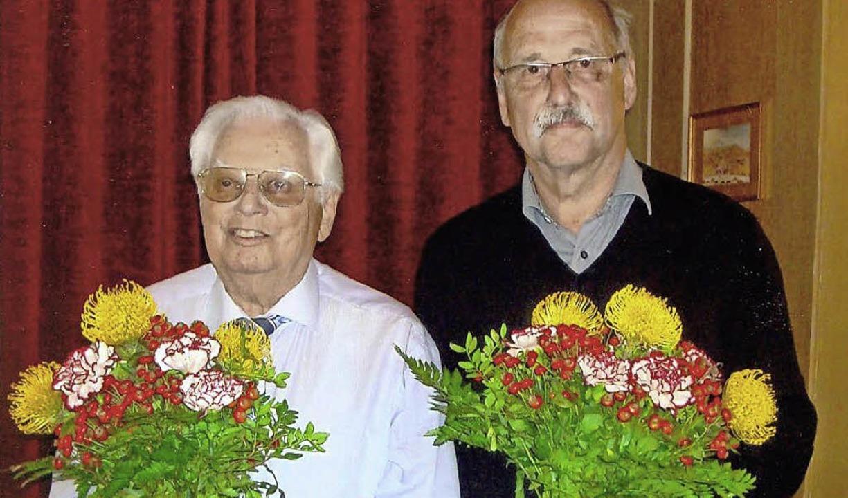 Führungswechsel: Erhard  Richter (links) und Hubert Bernnat   | Foto: zvg