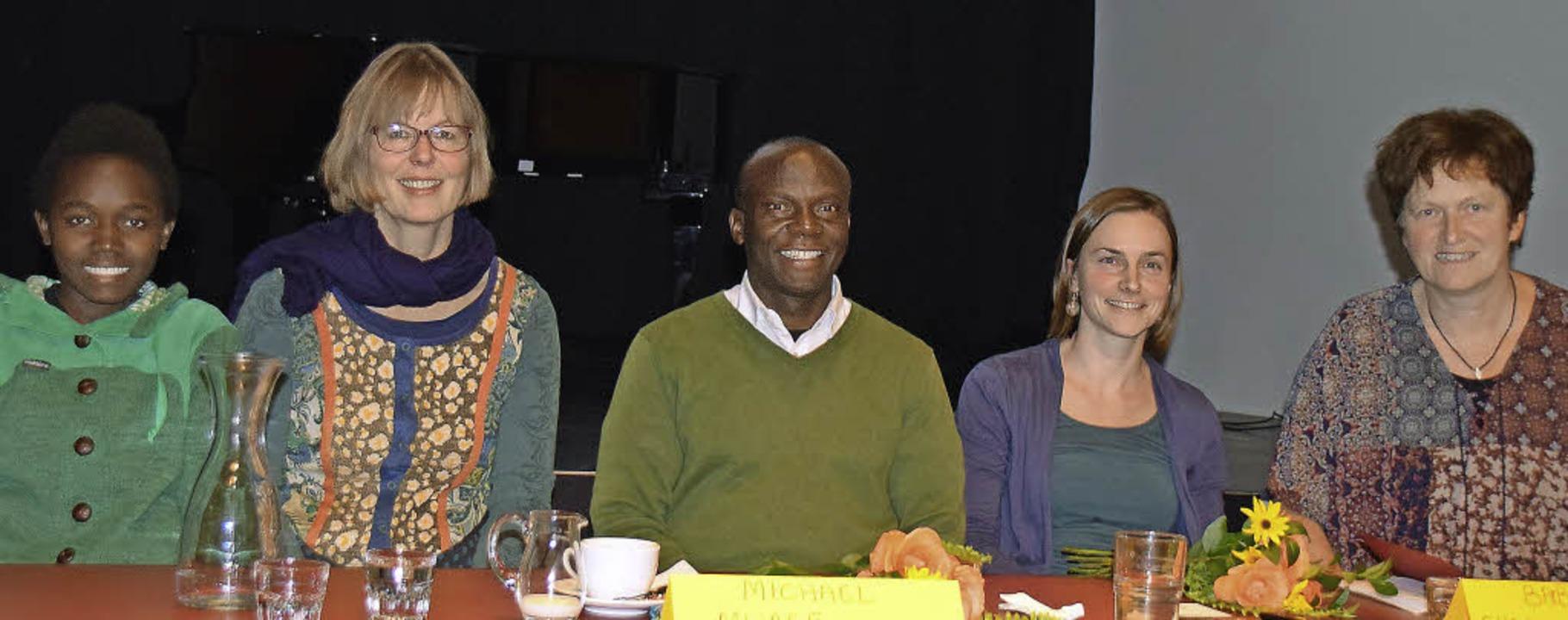 Annäherungen an Uganda im Werkraum Sch...hrensberger, Gertrud Schweizer-Ehrler   | Foto: Sarah Nöltner