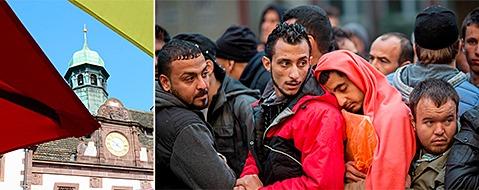 Fl�chtlingsstrom: Freiburg schafft bis zu 100 neue Stellen