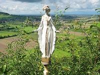 Statue geklaut: Diebe mopsen die Heilige Barbara in Staufen