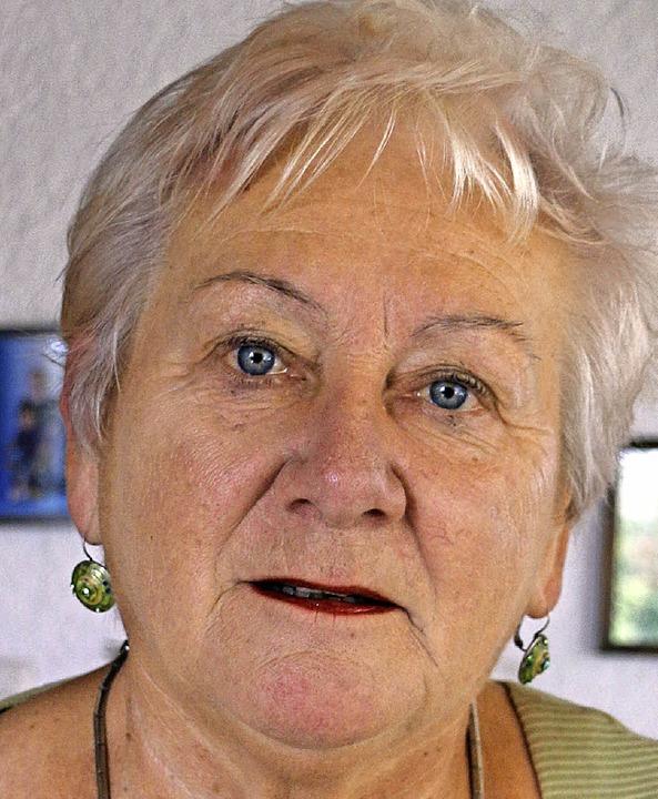 Monika Eyhorn, Porträt    Foto: Julia Jacob