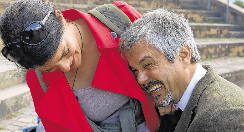 Hier Leiter Daniel Leers mit Regisseurin Dora Balog. Foto: <b>Chris Meiser</b> - 112368596
